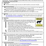 Search Checklist