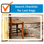 Search Checklist for Lost Dogs