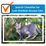 Search Checklist for Lost Outdoor-Access Cats