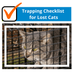Trapping Checklist for Lost Cats